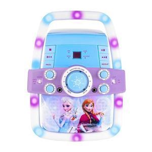 Frozen Karaoke Disney Microfono Luces Cd Niñas Envío
