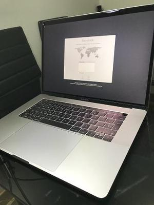 Macbook Pro 15 Core I7 Touch Bar,touch Id. 16 Ram, 256 Ssd.