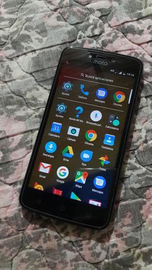 Moto C Plus, Flash Frontal