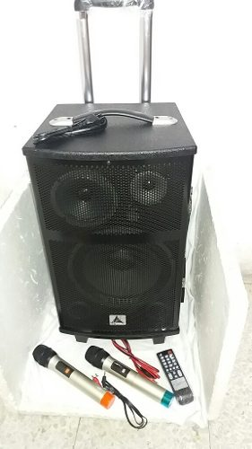 Parlante Cabina De 12 Con Bluetooth Micrófono Inalámbrico