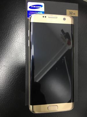 Samsung S7 Edge Dorado de Segunda