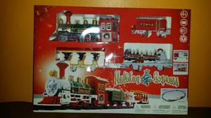 Tren De Navidad Musical Electrico Con Luces 20 Piezas Nuevo