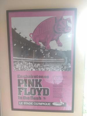 Afiche Original de Pink Floyd