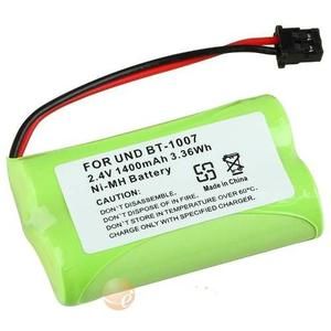 2 Baterias mah Nicd Inalambrico Uniden Bt- Bt-