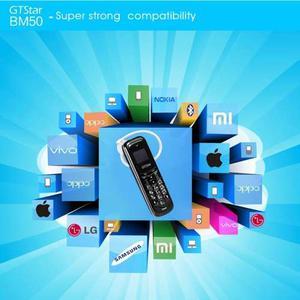 Mini Teléfono Móvil Gtstar Bm50, Mp3, Sim 2g Negro