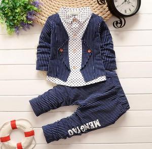 Pantalón, Camisa, Chaqueta Conjunto para Niño