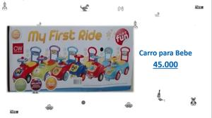 Se vende carro para bebe