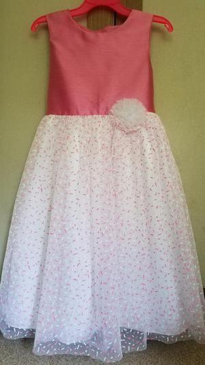 Vestido Elegante Largo Niña Talla 10