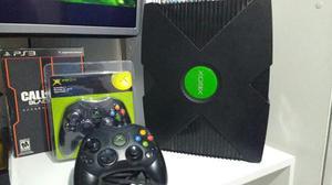 Xbox Clásico 2 Controles Y 10 Juegos Copias