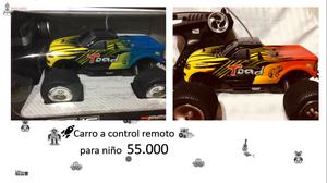 carros a control remoto