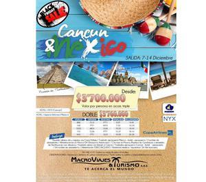 Cancun & Mexico Black Friday 7 Diciembre
