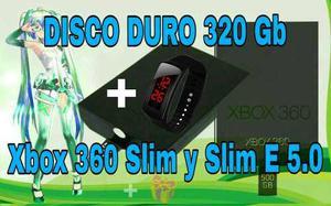 Disco Duro 320 Gb Xbox 360 Slim O Slim E 5.0