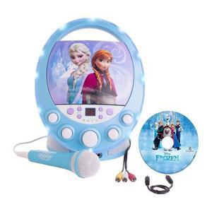 Frozen Disney Karaoke Disco Party Microfono Juguete Niñas
