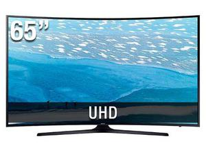 Samsung 65mu Pulg Curvo 4k Smart Tv