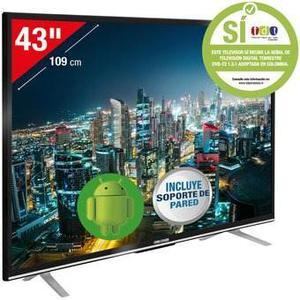 Televisor Challenger 43 Smart Tv Led43t18 Full Hd