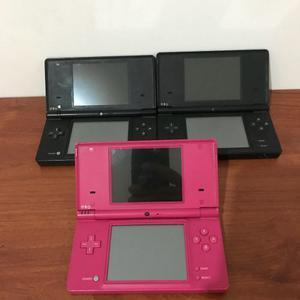 Vendo 3 Nintendo Dsi