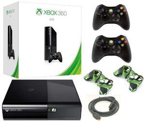 Xbox 360 Slim E 4gb Sin Modificaciones 2 Controles*stargus