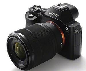 Camara Sony A7 Full Frame