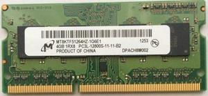 MEMORIA DDR3 4GB MICRO TECHNOLOGY