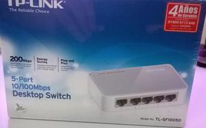 Switch TPLINK 5 puertos Mbps TLSFD