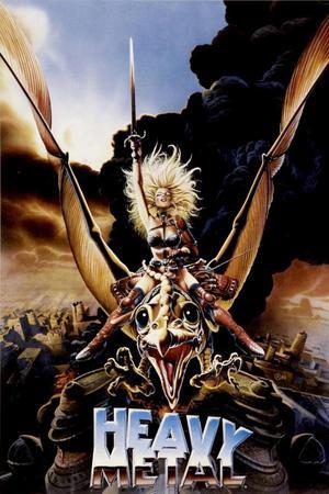 Afiche Heavy Metal la pelicula