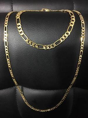 Cadena Cartier Acero Enchape En Oro 18k 24+ Esclava Cartier