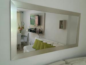 Espejo decoraci n xcm hogar moderno bogot posot class for Espejos biselados para sala
