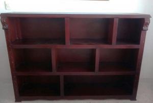 Hermoso mueble en madera para sala comedor