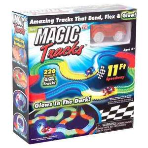 Magic Tracks Pista Magica Carros Flexible Brilla Original