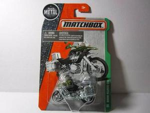 Moto Bmw Rgs Escala 1/64 Coleccion Matchbox