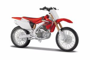 Moto Honda Crf450r 1/12 New Ray Detalle Coleccion