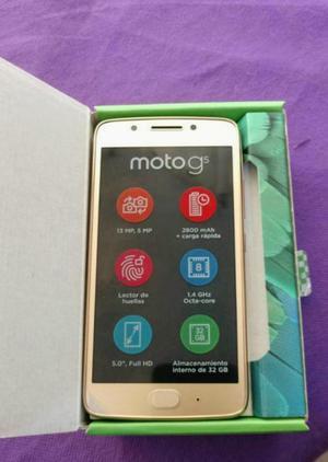 Vendo O Cambio Moto G5 Dorado