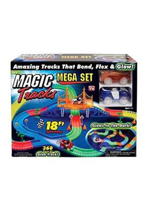 Magic Tracks Mega Set 2 Carros + Pista De 5.5m + Puente