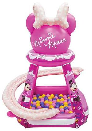 Minnie Mouse Buttons Bows Playland Piscina Inflable Pelotas