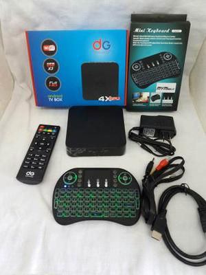 Android Tv O Tv Box + Mini Teclado Inalámbrico