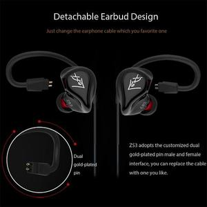 Audifonos Kz Zs3 In-ear Monitoreo
