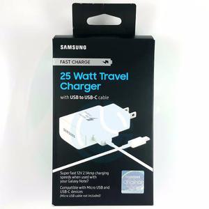 Cargador Original Carga Rápida Samsung Galaxy S8 Plus 25w