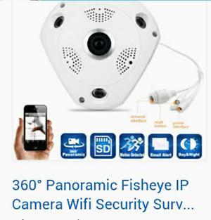 Cámara de Seguridad Panorámica $