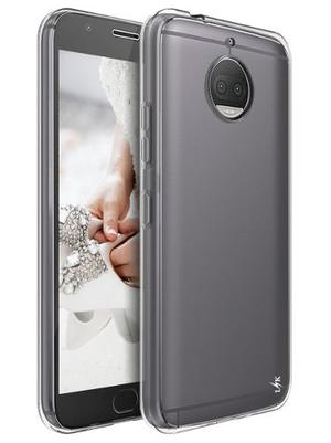 Forro Estuche Funda Tpu Clear Motorola Moto G5s Plus +vidrio