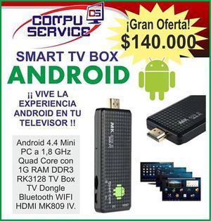 Mini PC ANDROID Smart TV Box Convierte tu TV en Smart TV: