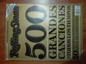 Revista de los Rolling Stones 500 grandes canciones de