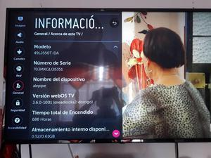 Televisor Lg Smart Tv 49 Pulgadas Garantia Full Caja Tdt Hd2