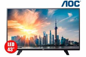 Tv 43 Pulgadas 109 Cm Led Aoc 43f Full Hd Internet Smart