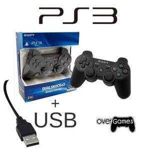 Control Ps3 Playstation 3 + Cable Cargador (obsequio)