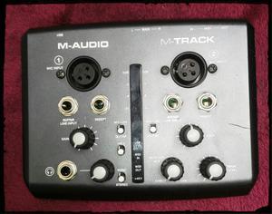 M Audio M Track Interfaz de Grabación