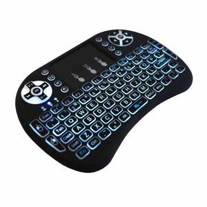 Mini Teclado Qwerty Touch Pad Inalambrico Smart Tv Android