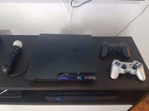 Play Station 3. Como Nuevo 320gb Controles Originales Y Move