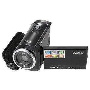 Andoer Hdv-107 Cámara De Vídeo Digital Hd 720p 16mp