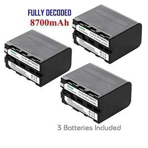 Batería Kastar (paquete De 3) Para Sony Np-f970 Np-f960