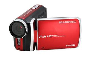 Cámara De Video Bell + Howell Dv30hd-r Hd Con Pantalla